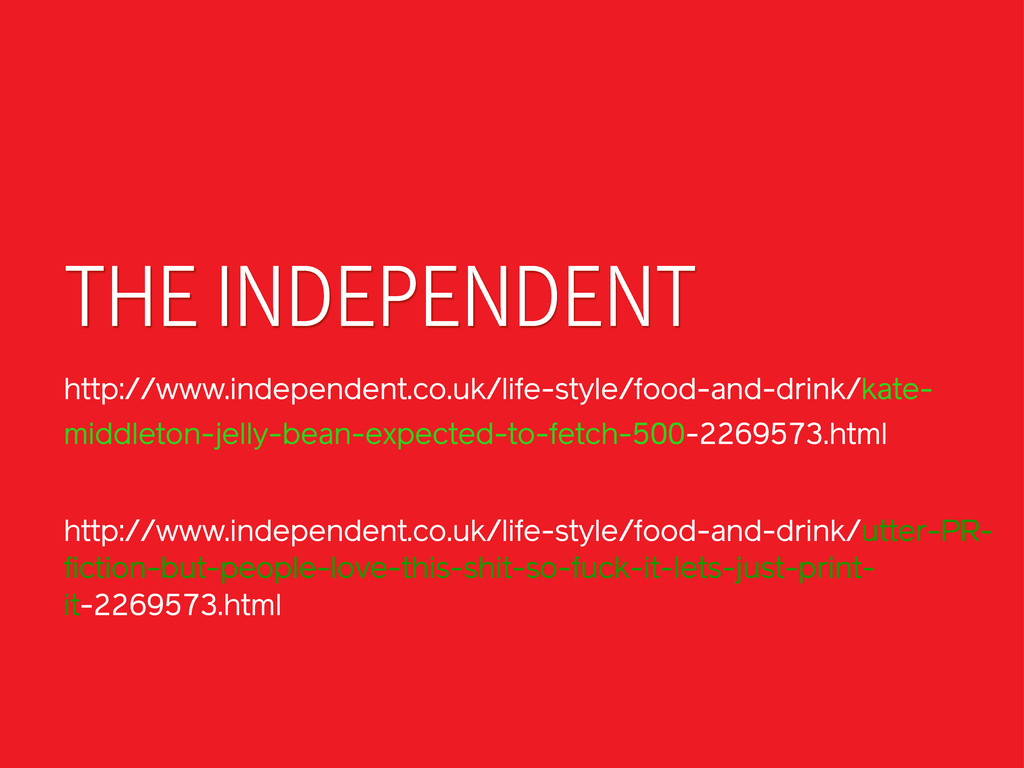 THE INDEPENDENT http://www.independent.co.uk/li...