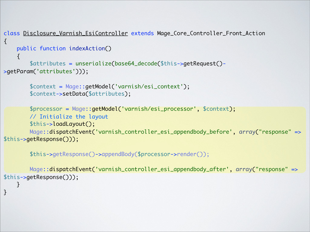 class Disclosure_Varnish_EsiController extends ...