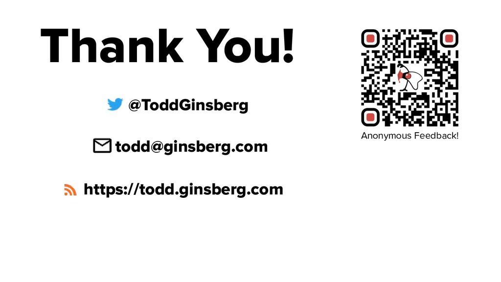 @ToddGinsberg todd@ginsberg.com https://todd.gi...