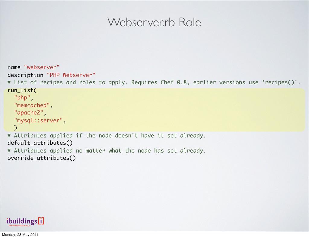 """name """"webserver"""" description """"PHP Webserver"""" # ..."""