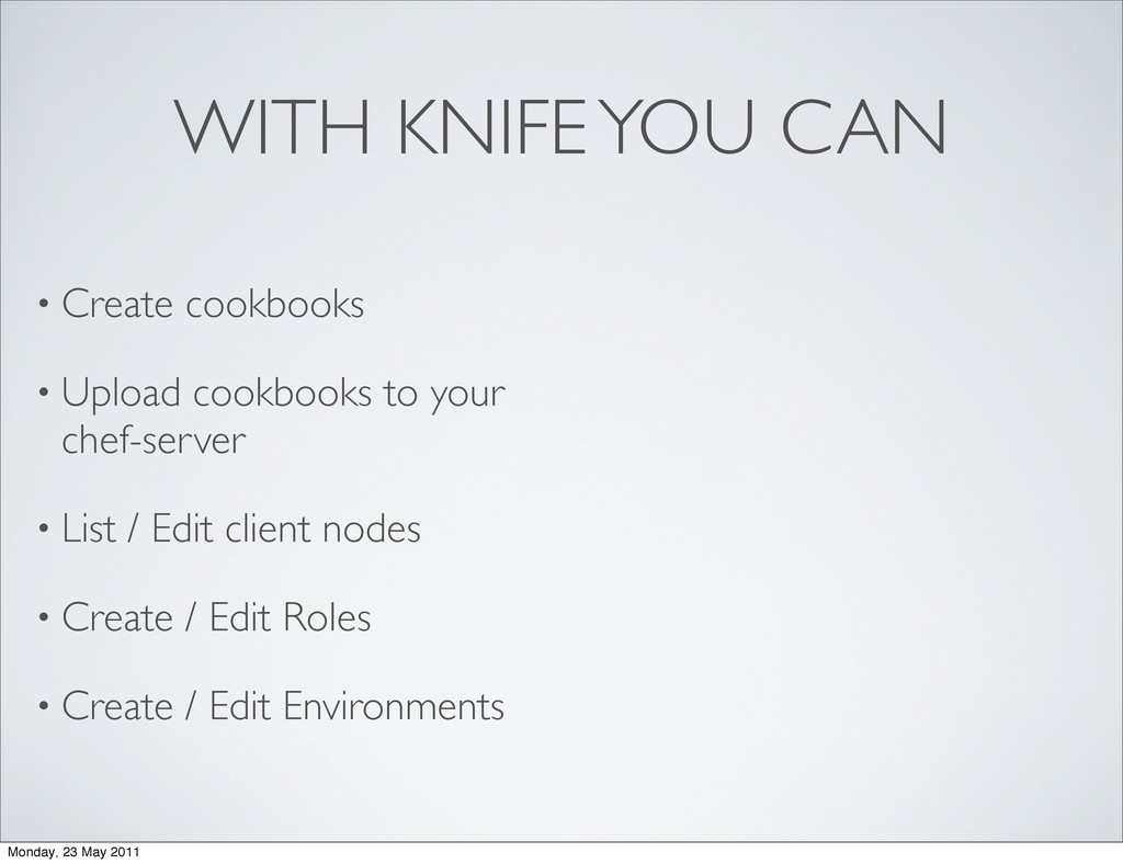 WITH KNIFE YOU CAN • Create cookbooks • Upload ...