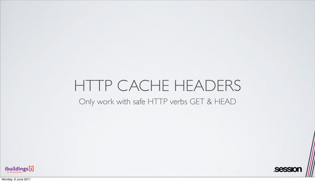 HTTP CACHE HEADERS Only work with safe HTTP ver...