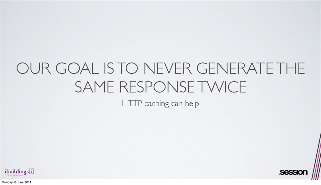 OUR GOAL IS TO NEVER GENERATE THE SAME RESPONSE...