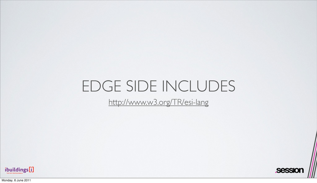 EDGE SIDE INCLUDES http://www.w3.org/TR/esi-lan...