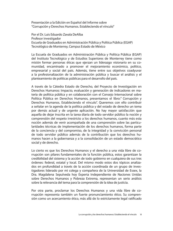 Presentación a la Edición en Español del Inform...