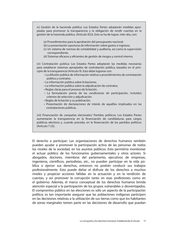 El derecho a participar: Las organizaciones de ...