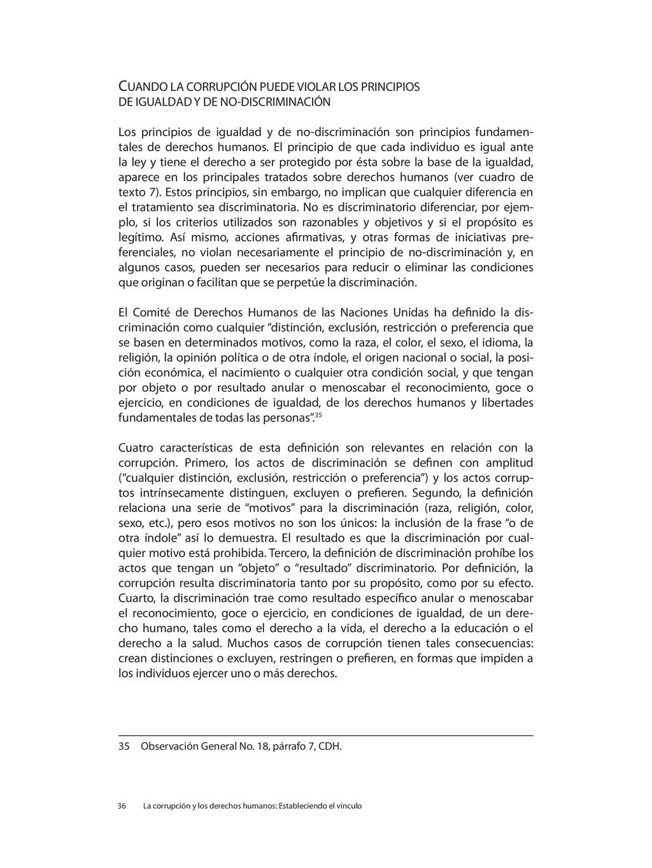 CUANDO LA CORRUPCIÓN PUEDE VIOLAR LOS PRINCIPIO...