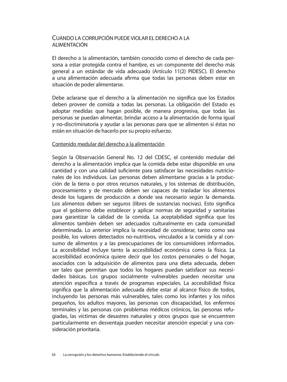 CUANDO LA CORRUPCIÓN PUEDE VIOLAR EL DERECHO A ...