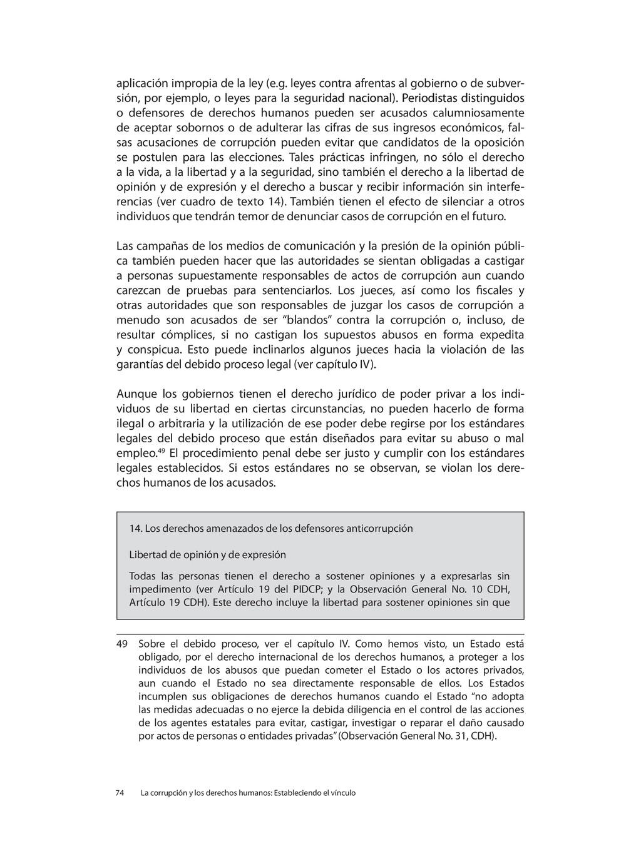 aplicación impropia de la ley (e.g. leyes contr...