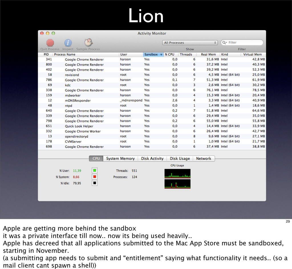 Lion 29 Apple are getting more behind the sandb...