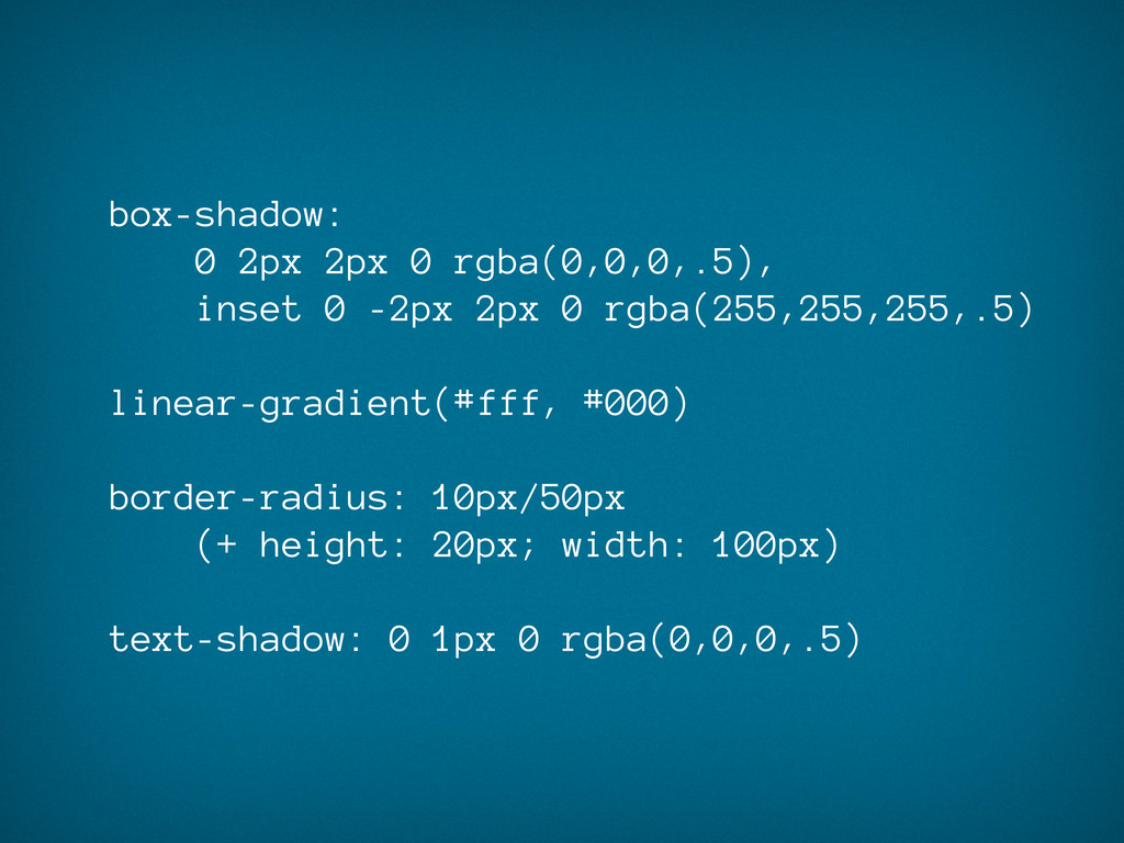 box-shadow: 0 2px 2px 0 rgba(0,0,0,.5), inset 0...