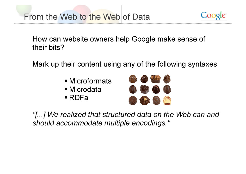 From the Web to the Web of Data How can website...