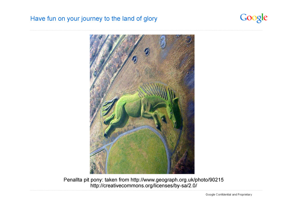 Have fun on your journey to the land of glory P...