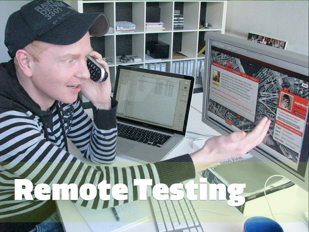#GRMethods | @zakiwarfel Remote Testing