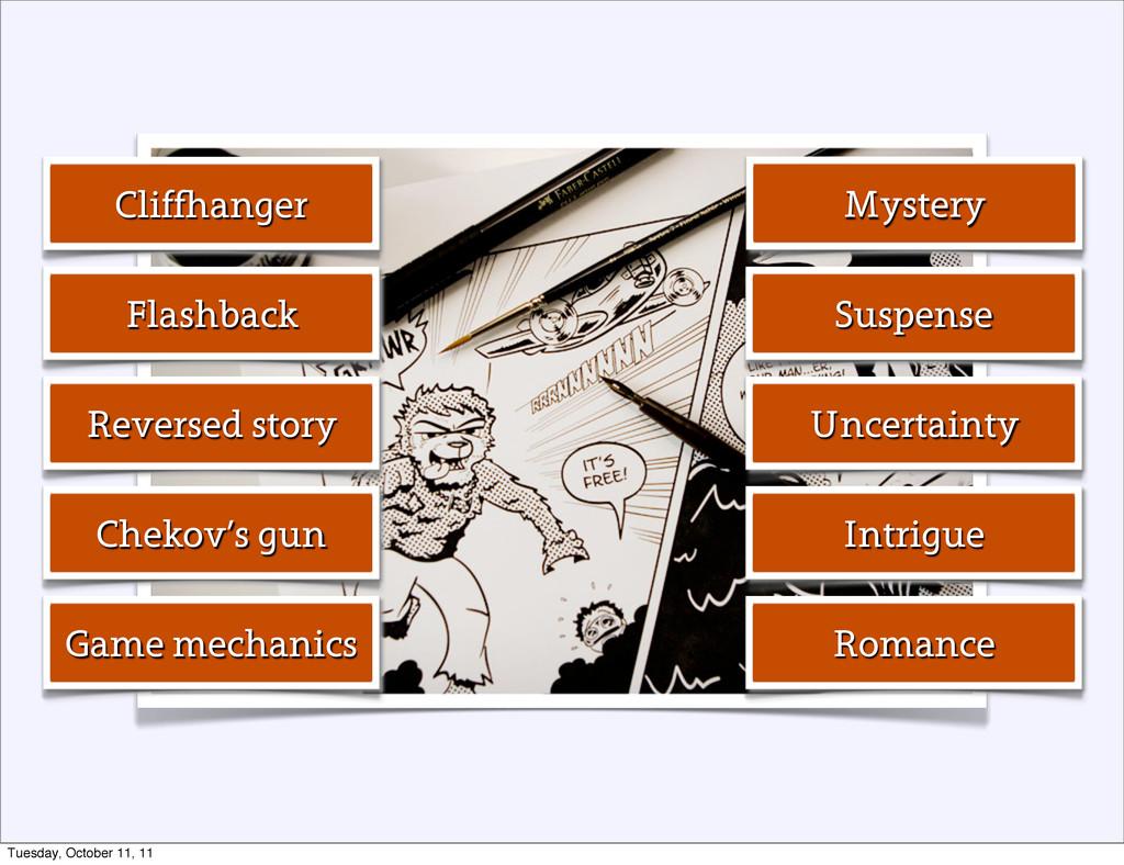 Mystery Suspense Uncertainty Intrigue Romance C...