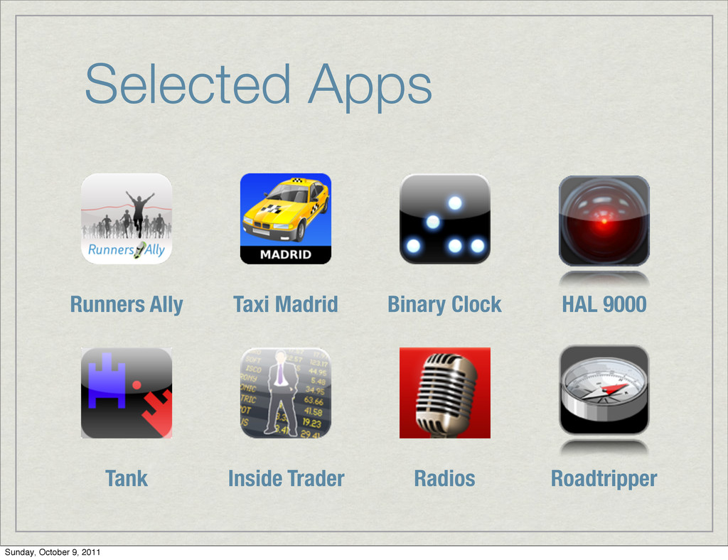 Selected Apps Runners Ally Taxi Madrid Binary C...