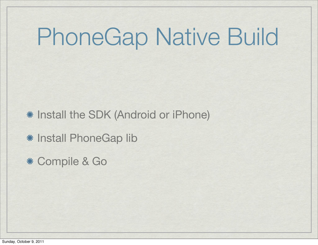 PhoneGap Native Build Install the SDK (Android ...