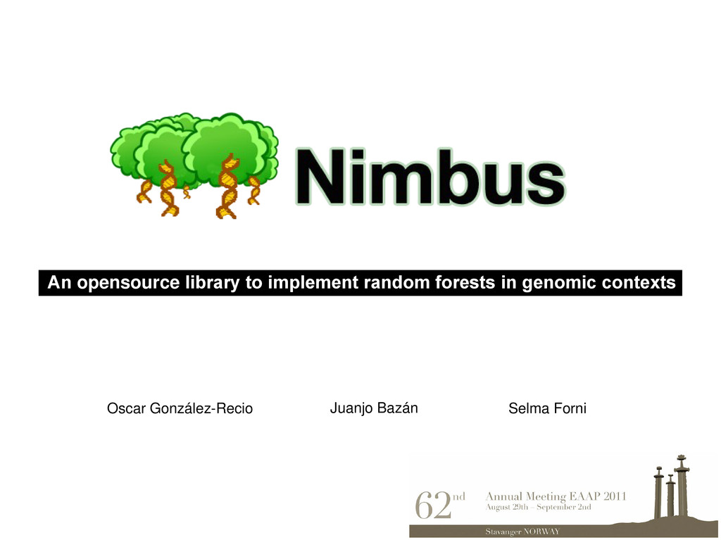 An opensource library to implement random fores...