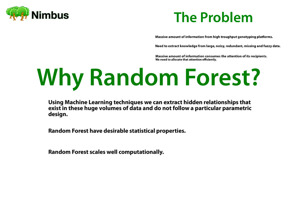 Why Random Forest? Using Machine Learning techn...