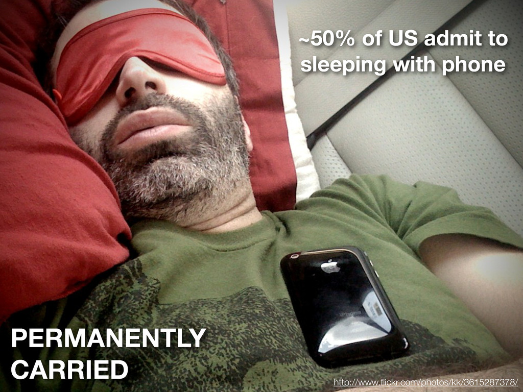 PERMANENTLY CARRIED ~50% of US admit to sleepin...