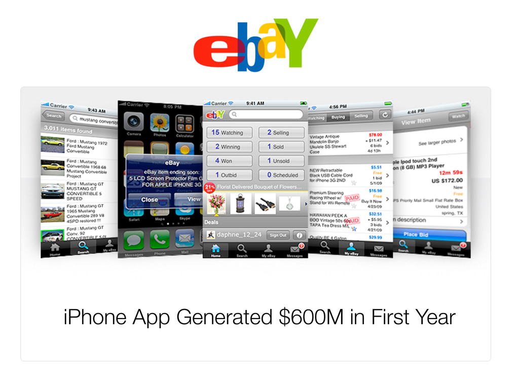 iPhone App Generated $600M in First Year