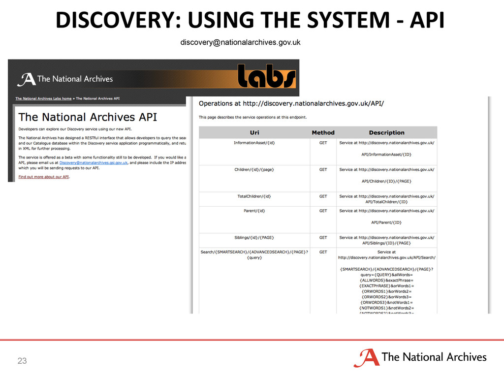 DISCOVERY:	