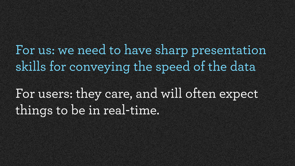 For us: we need to have sharp presentation skil...