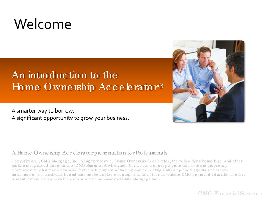 A Home Ownership Accelerator presentation for P...