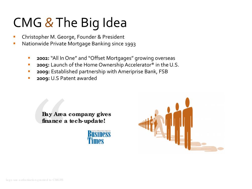 CMG & The Big Idea  Christopher M. George, Fou...