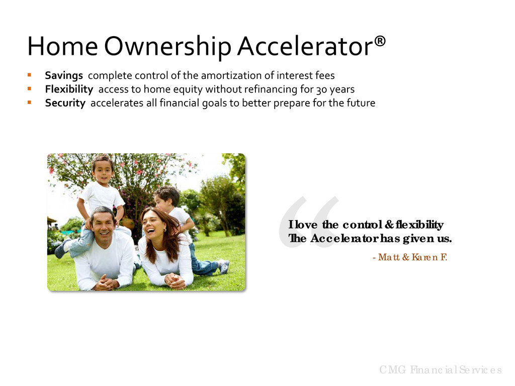 CMG Financial Services Home Ownership Accelerat...