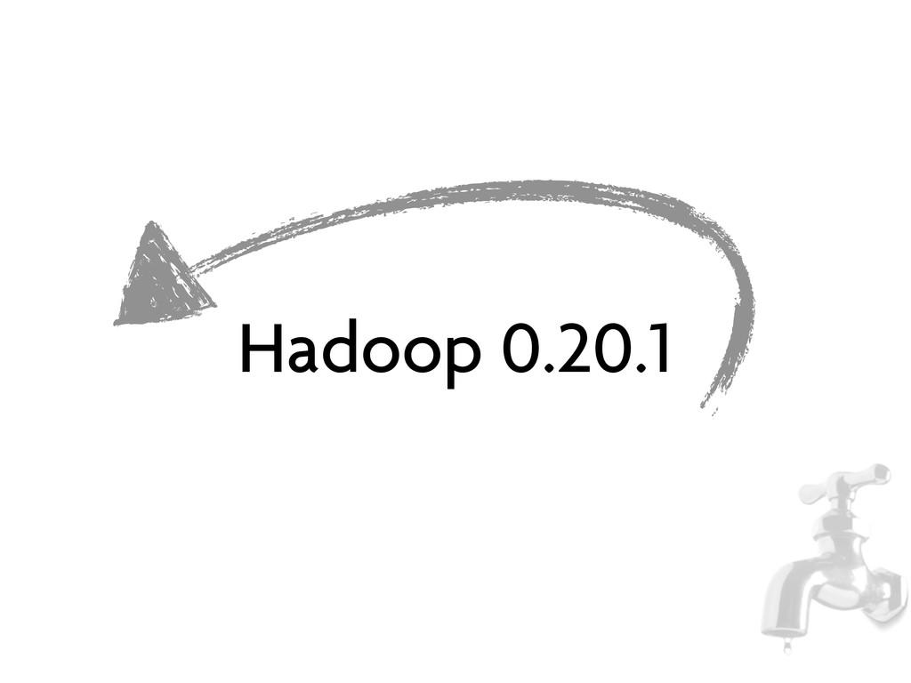 Hadoop 0.20.1