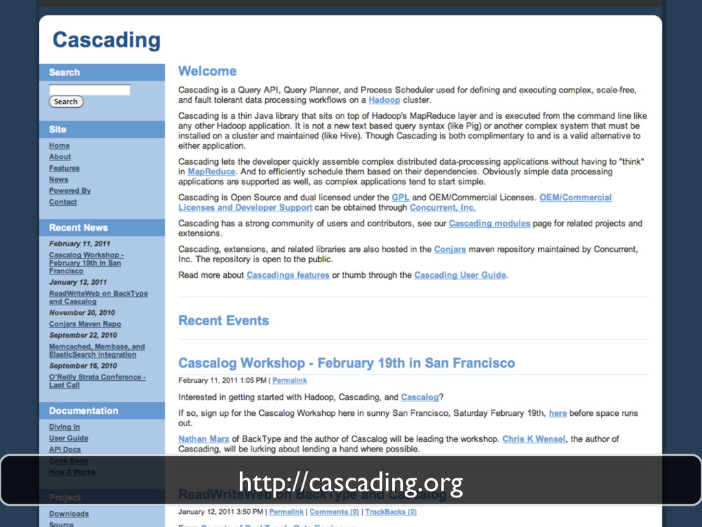 http://cascading.org