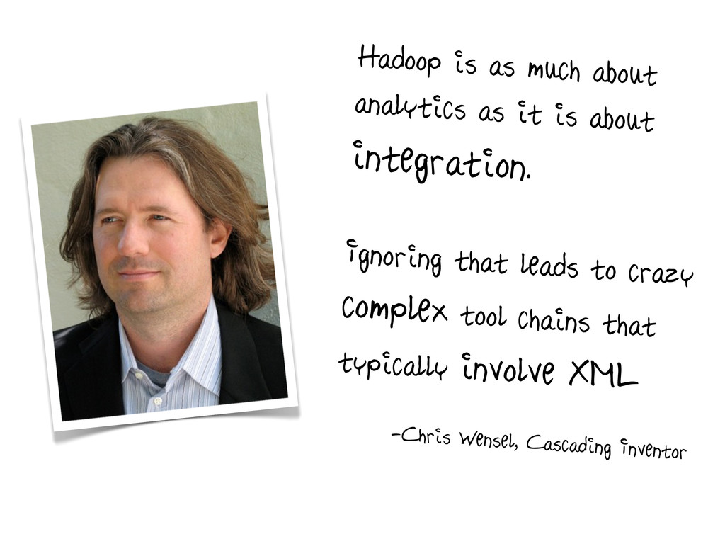 Hadoop is as much about analytics as it is abou...