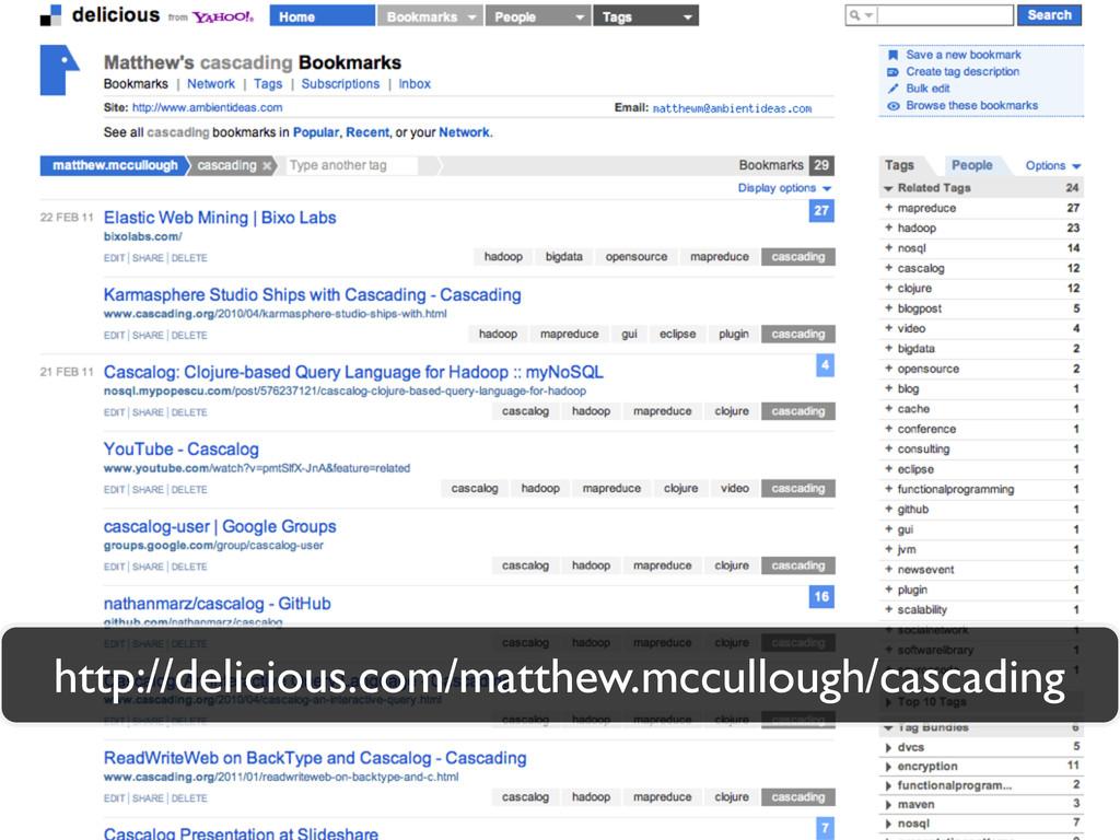 http://delicious.com/matthew.mccullough/cascadi...