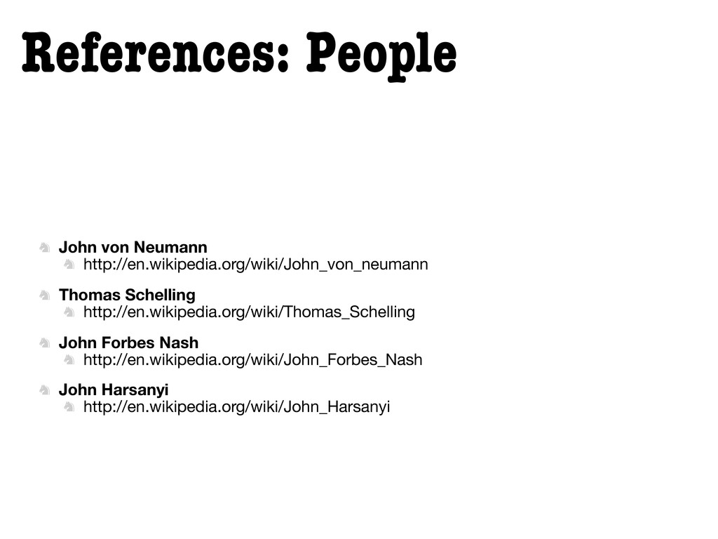 References: People  John von Neumann  http://...
