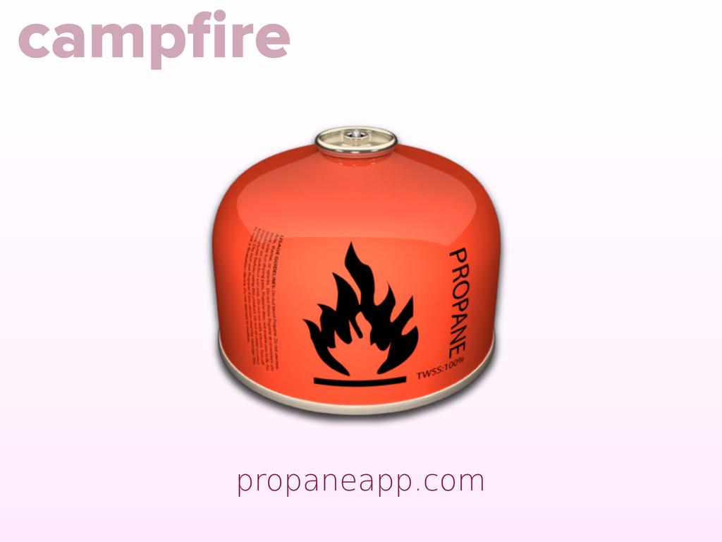propaneapp.com campfire