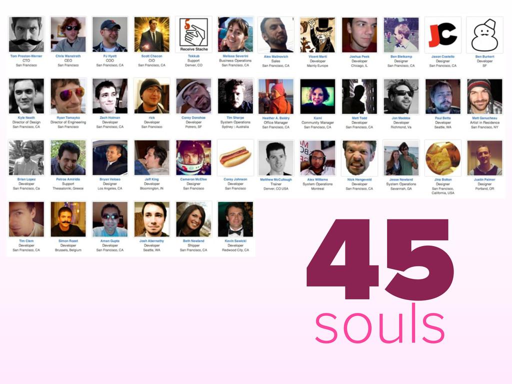 45 souls