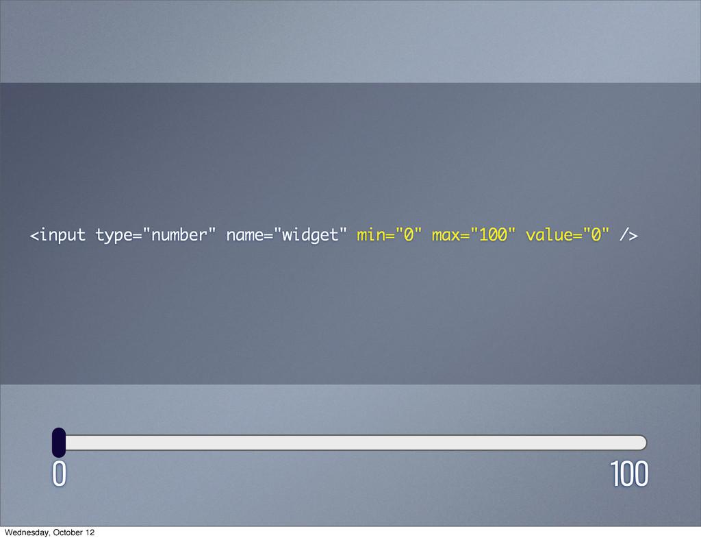 "0 100 <input type=""number"" name=""widget"" min=""0..."