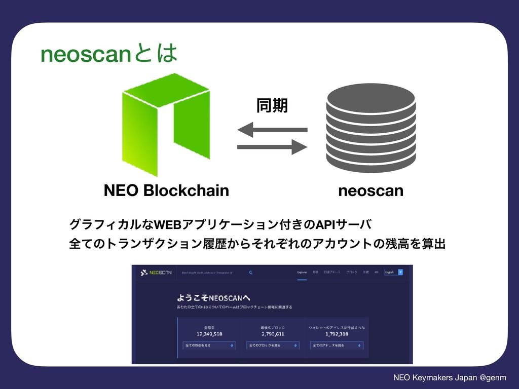 NEO Keymakers Japan @genm neoscanͱ NEO Blockch...