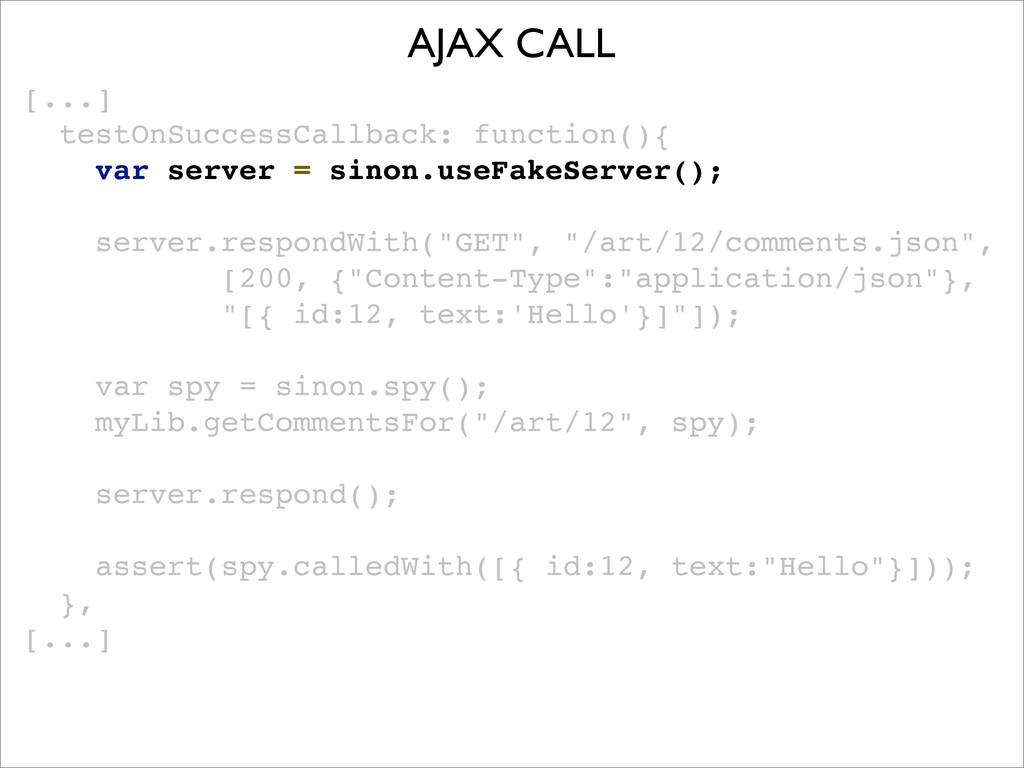 [...] testOnSuccessCallback: function(){! ! var...