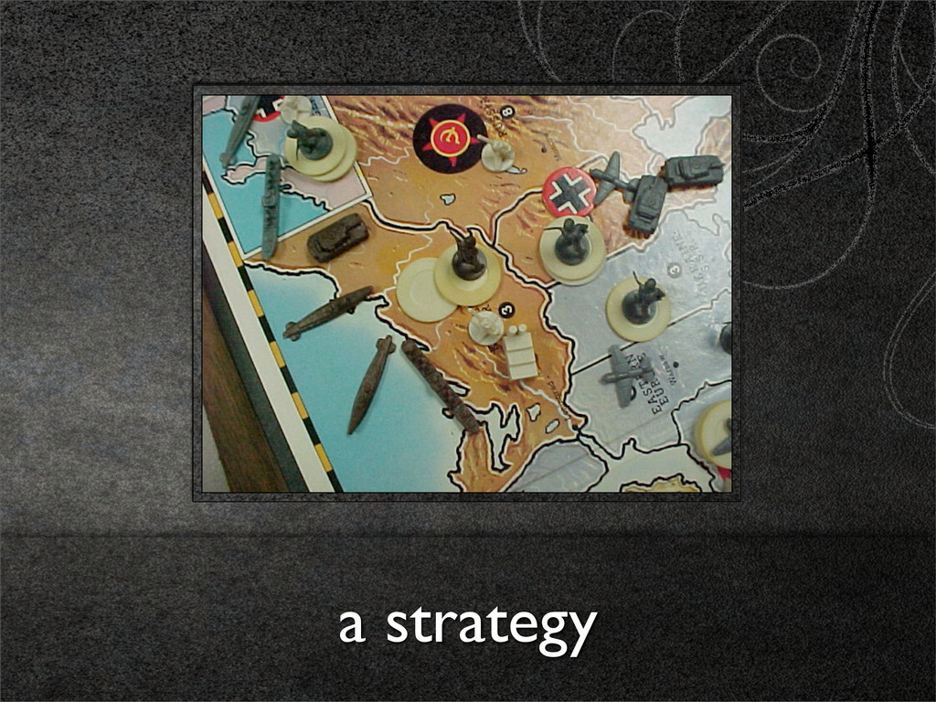 a strategy
