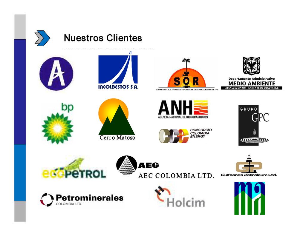 Nuestros Clientes AEC COLOMBIA LTD. Cerro Matoso