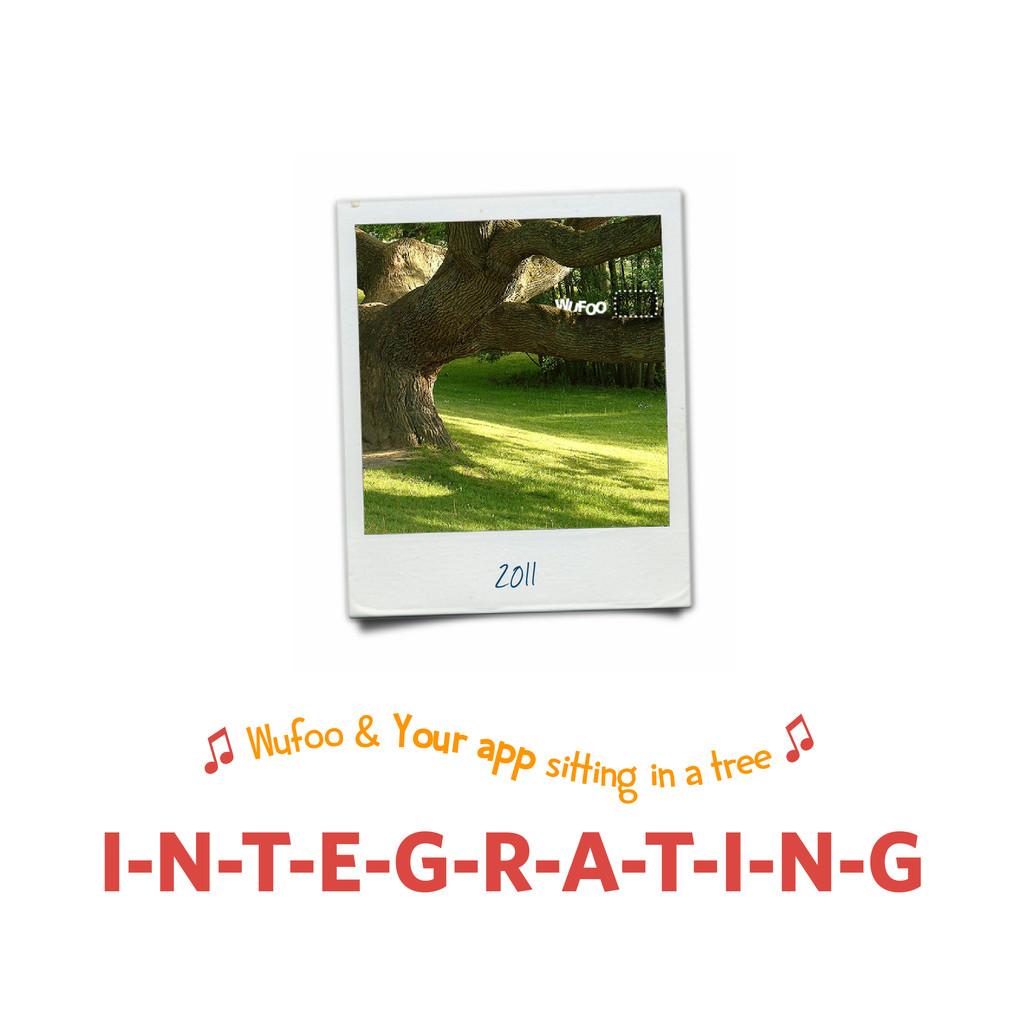 I-N-T-E-G-R-A-T-I-N-G 2011 ♫ Wufoo & Your app s...