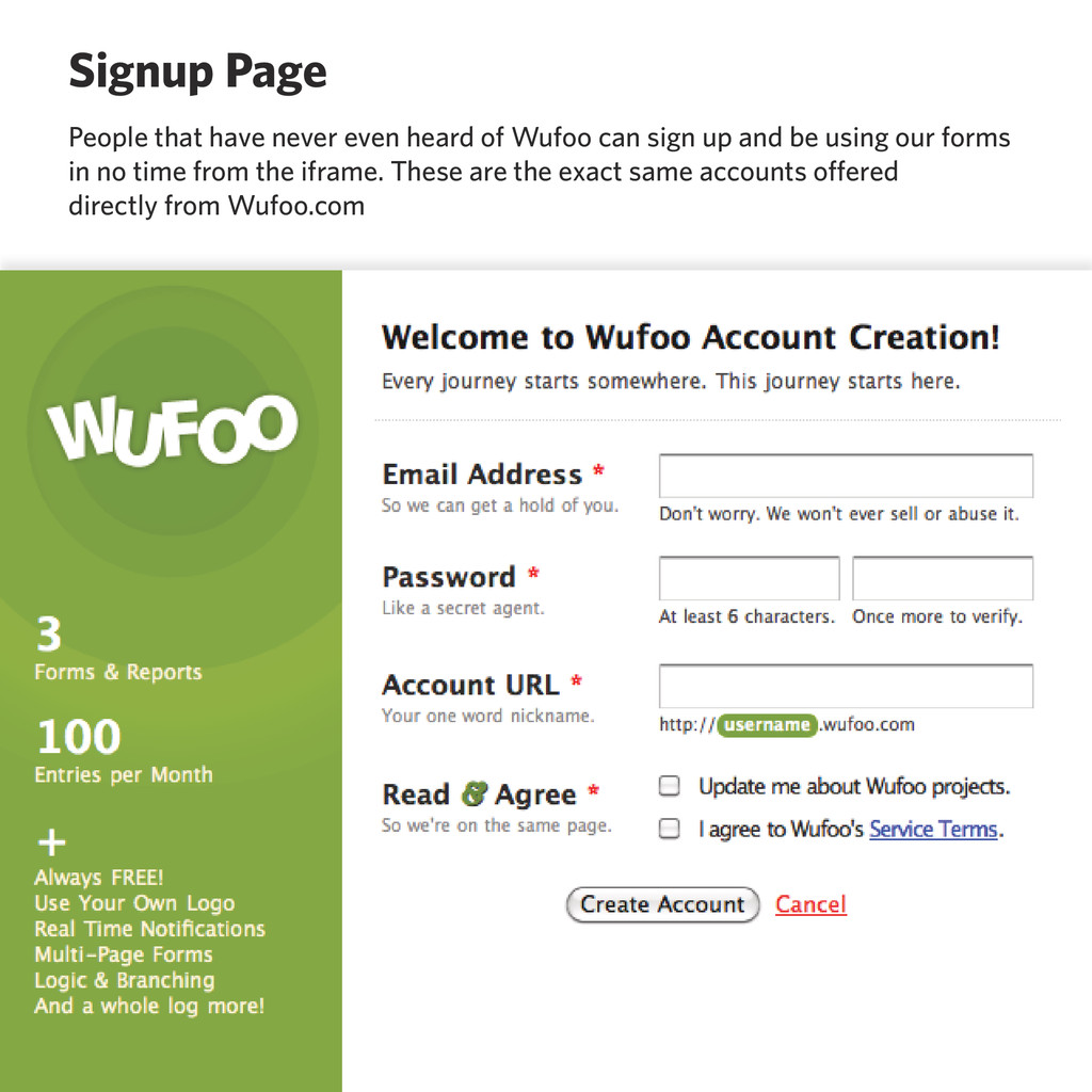 Signup Page People that have never even heard o...