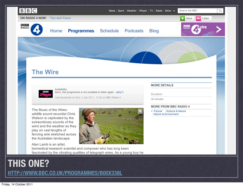 THIS ONE? HTTP://WWW.BBC.CO.UK/PROGRAMMES/B00X3...