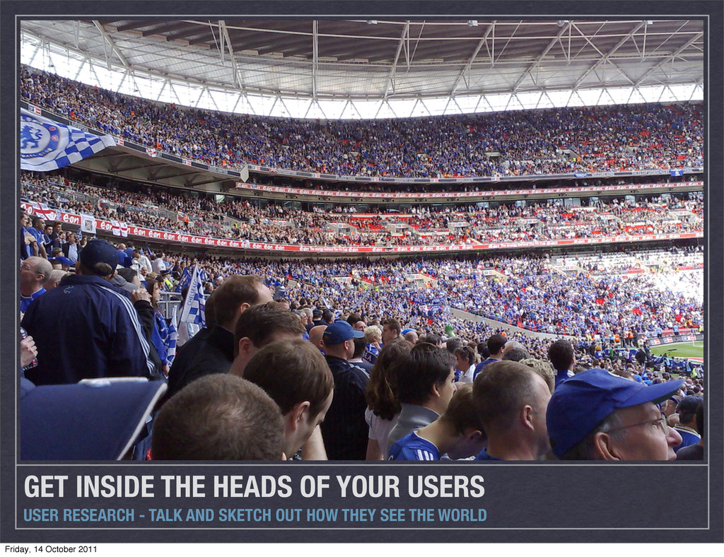 GET INSIDE THE HEADS OF YOUR USERS USER RESEARC...