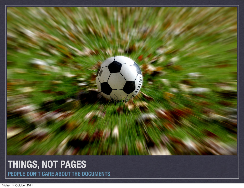THINGS, NOT PAGES PEOPLE DON'T CARE ABOUT THE D...