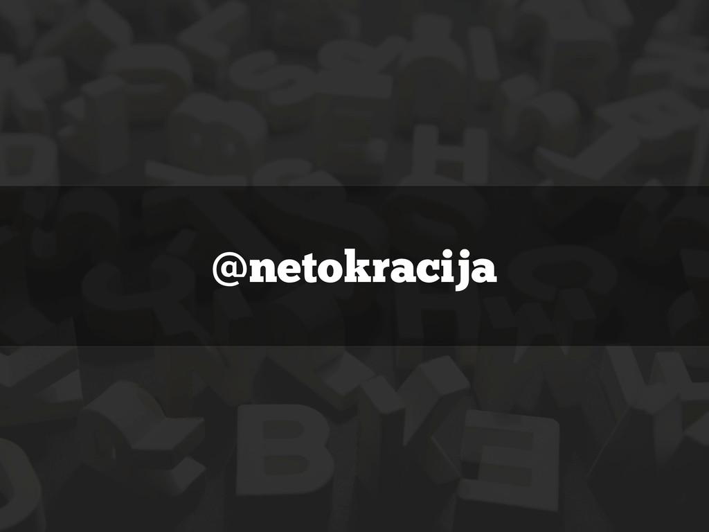 @netokracija