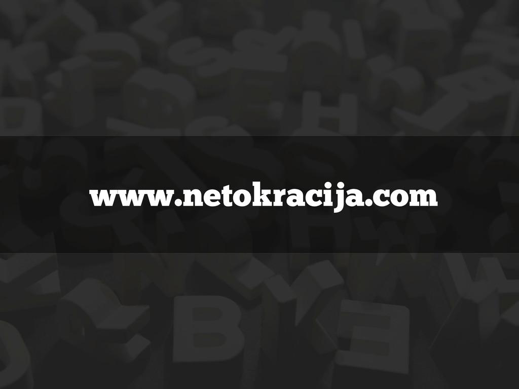www.netokracija.com