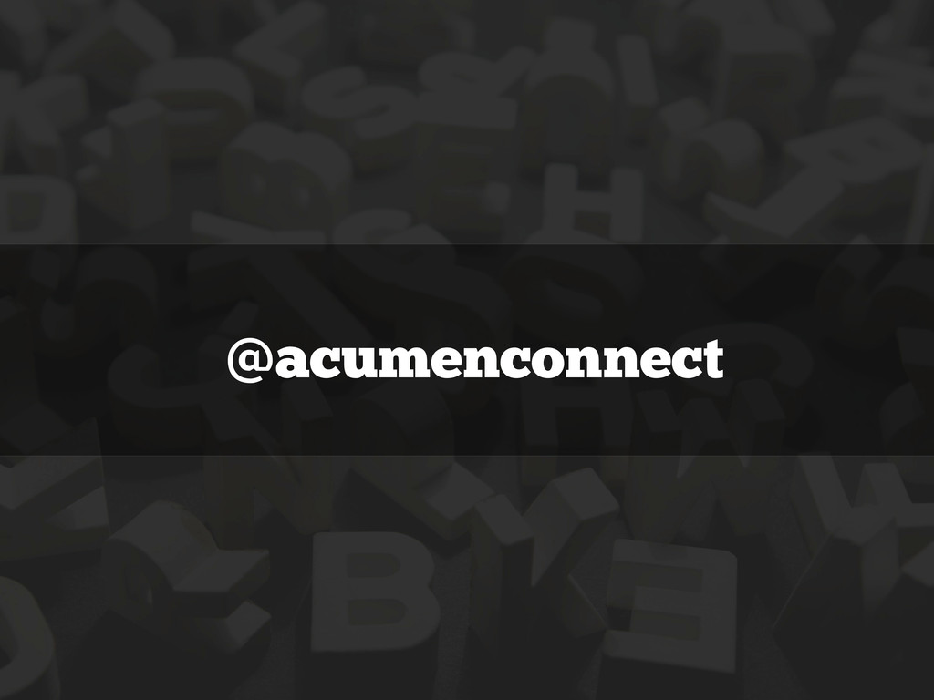 @acumenconnect